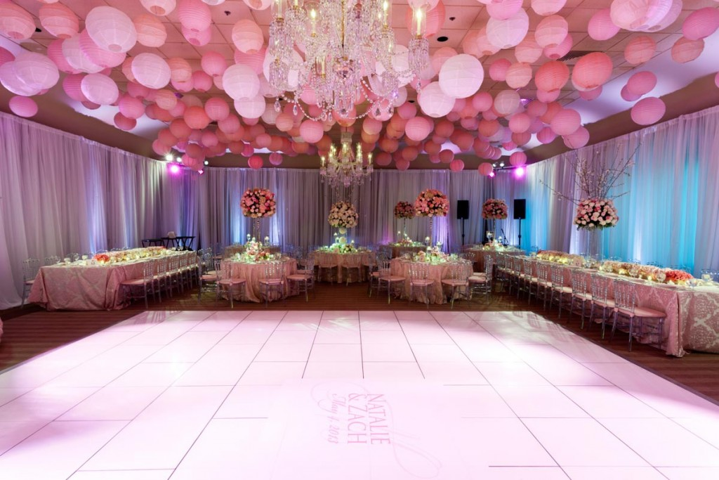 Pretty In Pink Ombre Wedding At Woodmont Country Club In Rockville