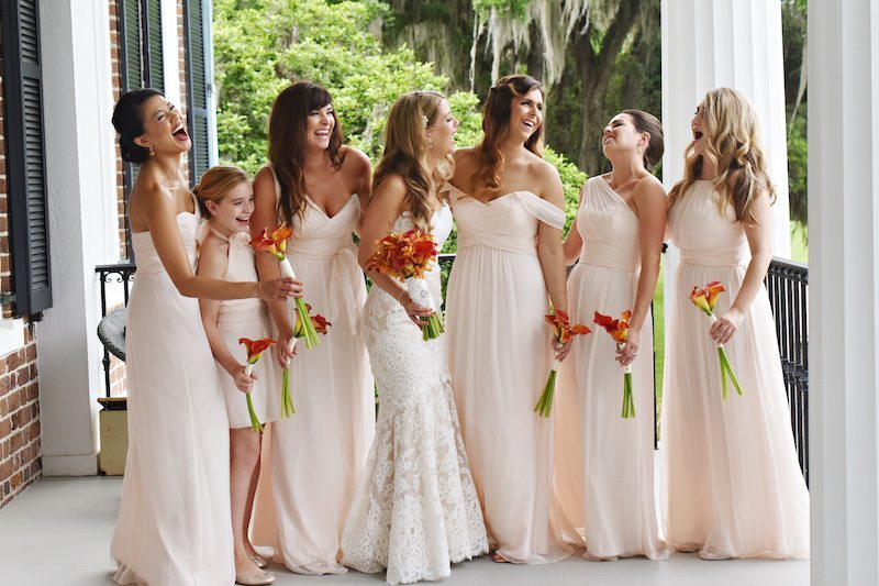 SouthernEstateWeddingBridesmaids