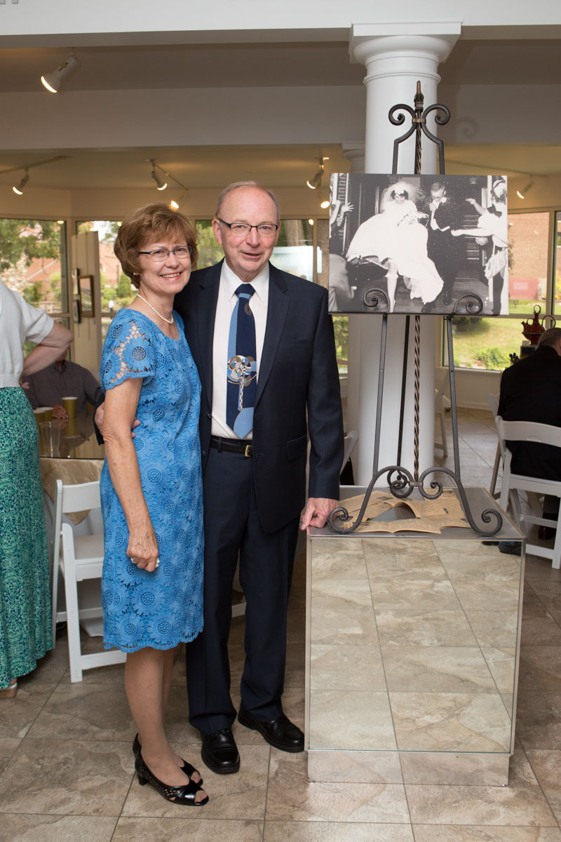couple on their 50th anniversary party