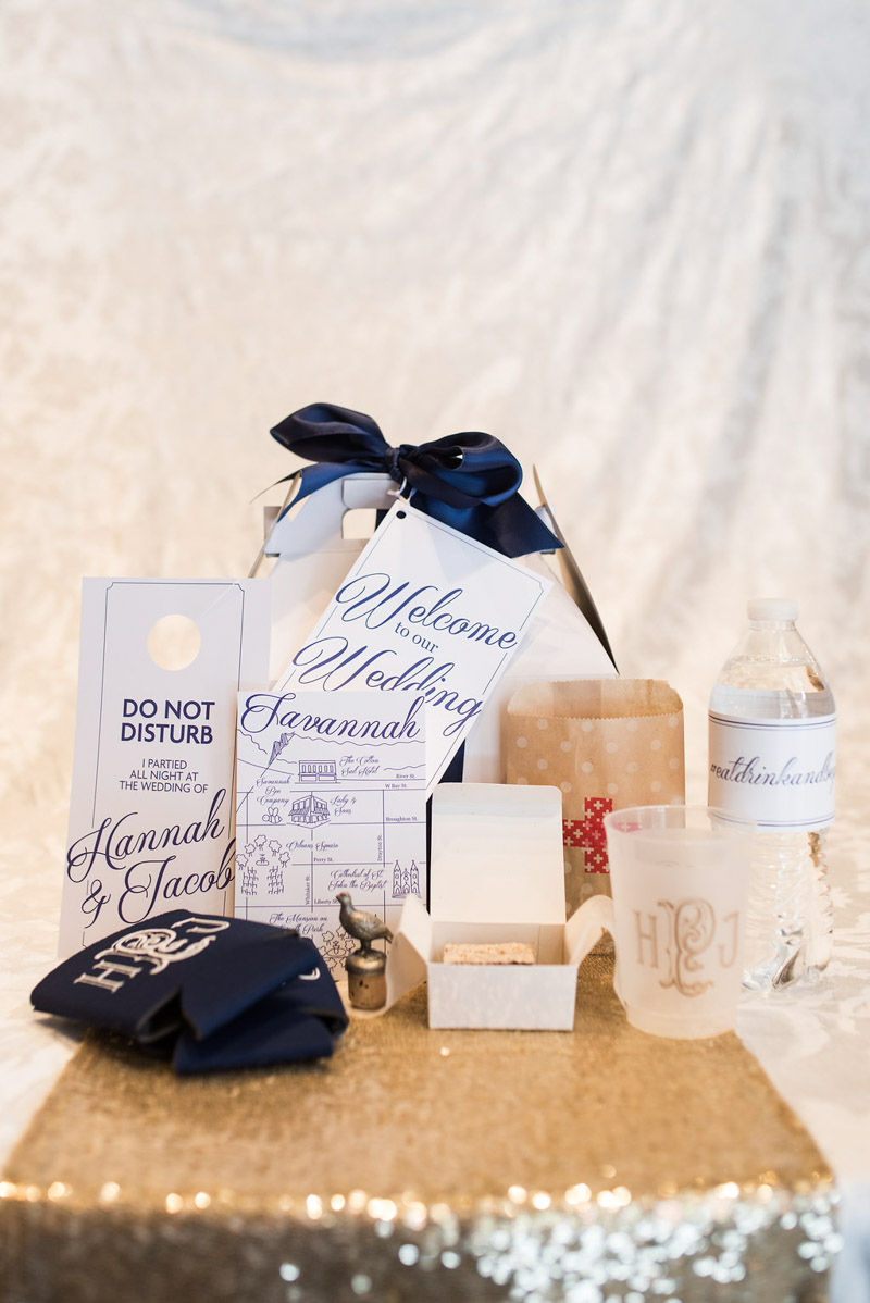 personalized monogrammed wedding details