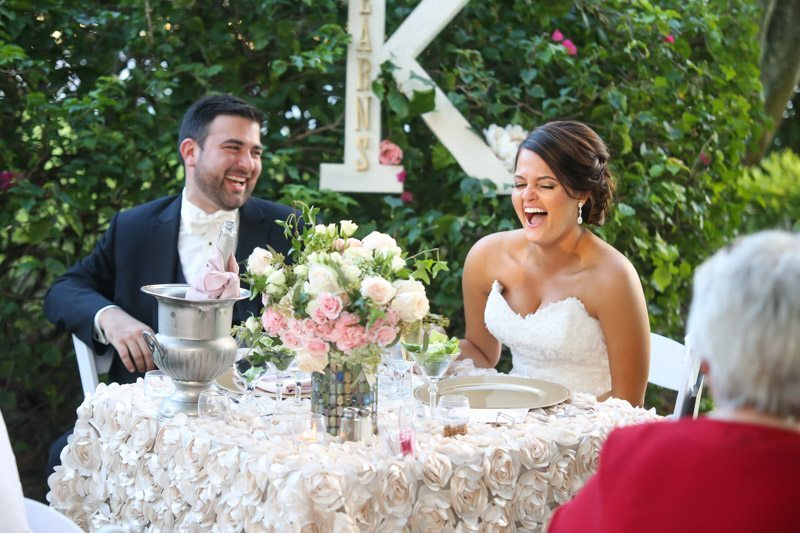 Waterfront Garden Wedding at Davis Islands Garden Club in Tampa