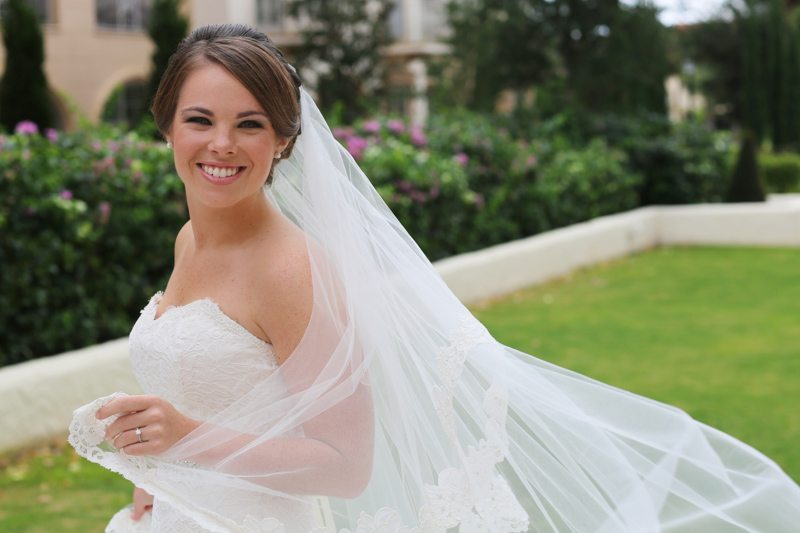 Bride Smiling_