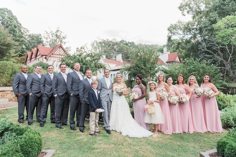 CallanwoldeGardenWeddingBridal Party