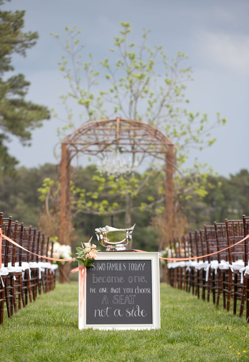Ceremony Seating Sign_