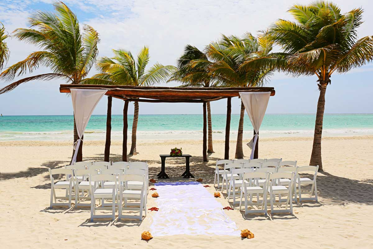 Vibrant Tropical Destination Wedding At