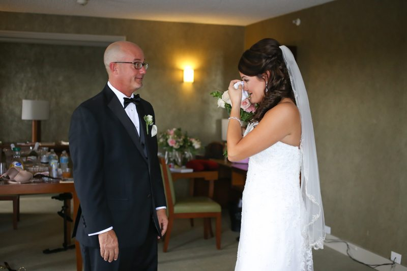 Father & Bride Crying