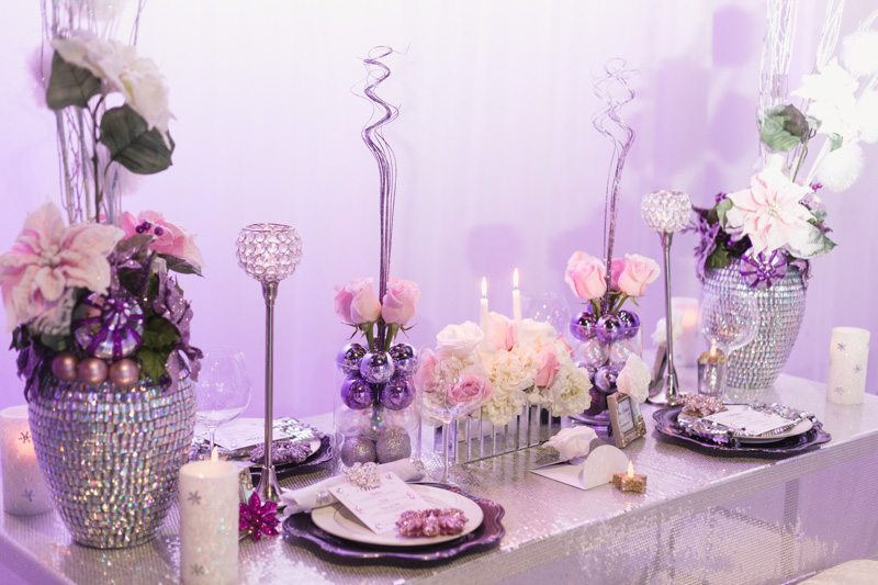 Festive Reception Table_