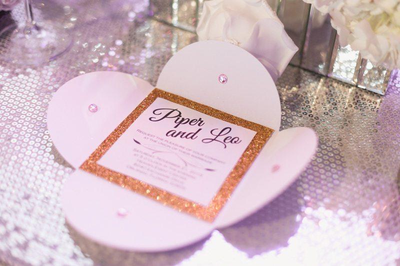 Glitter Invitation_