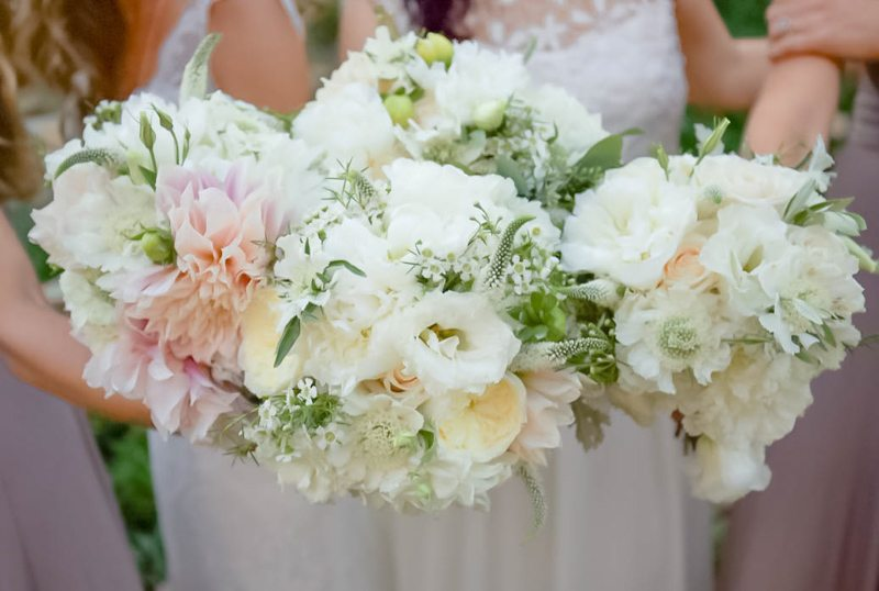 Ivory & White Bouquets