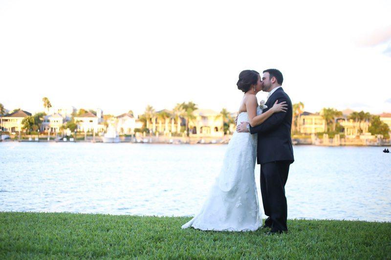 Kissing Along Water