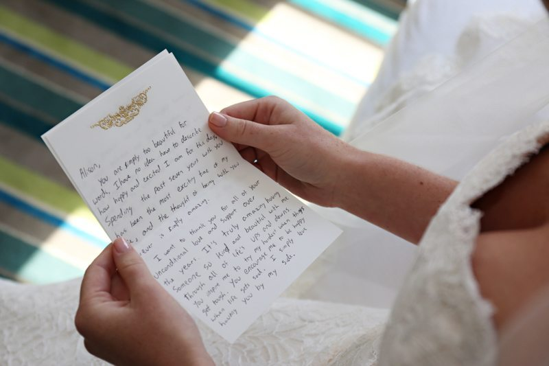 Note From Groom