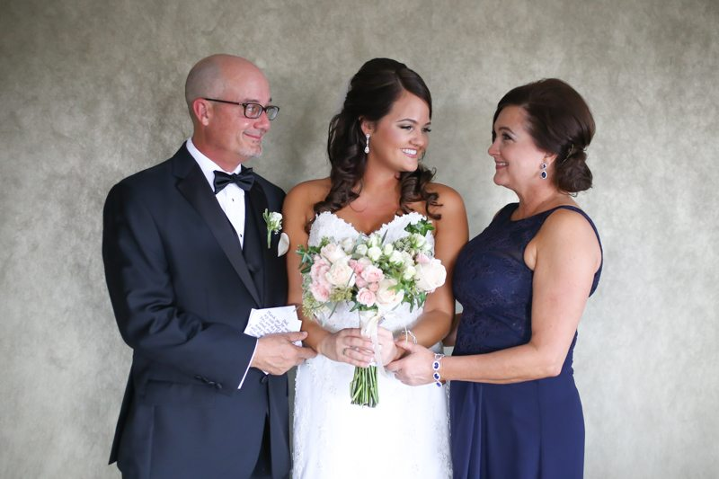 Parents With Bride