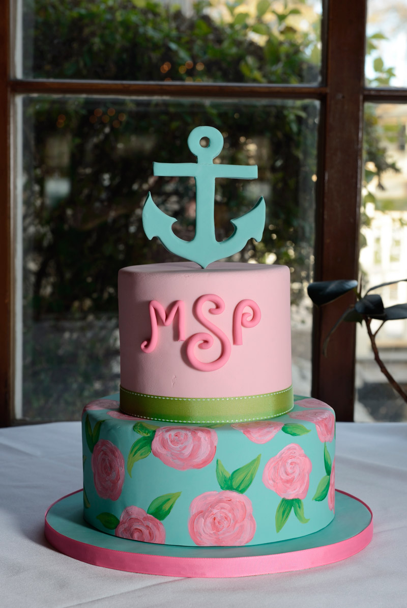 Preppy Anchor Cake