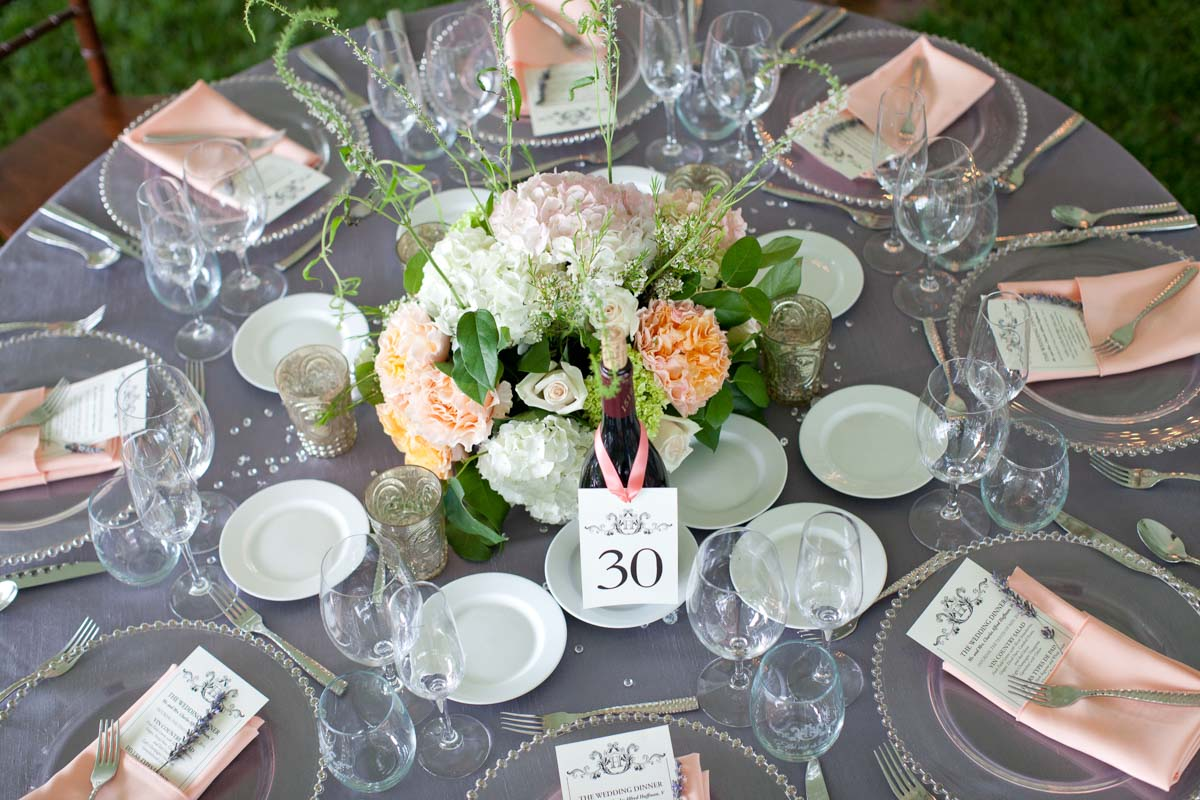 Reception Table Decor_