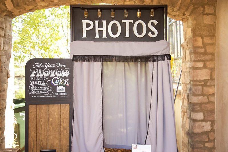 Rustic Photobooth