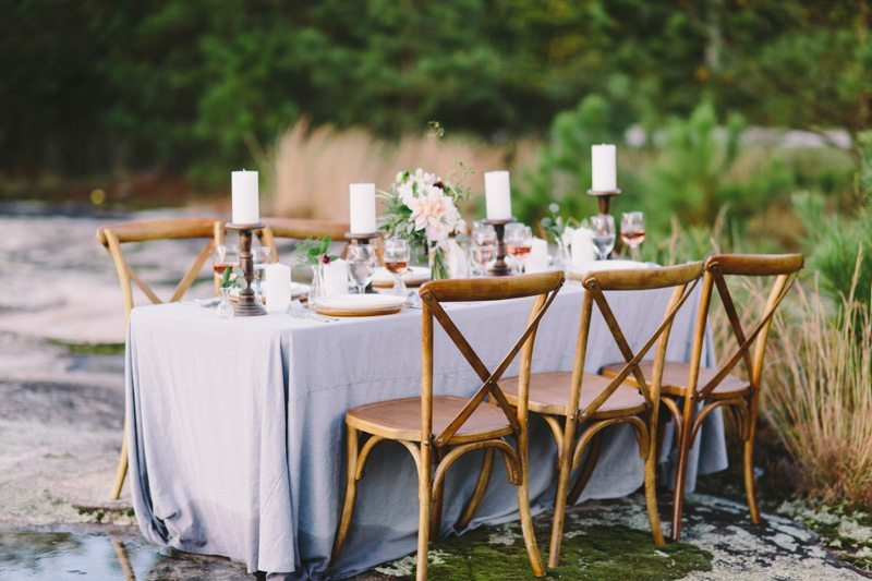 Rustic Reception Table 2