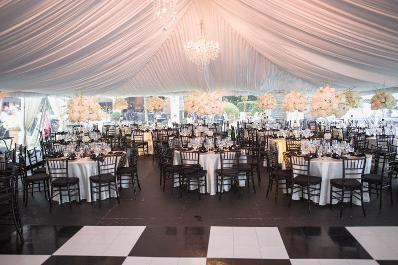 Tented Reception Area_