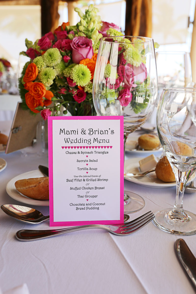 Wedding Menu_