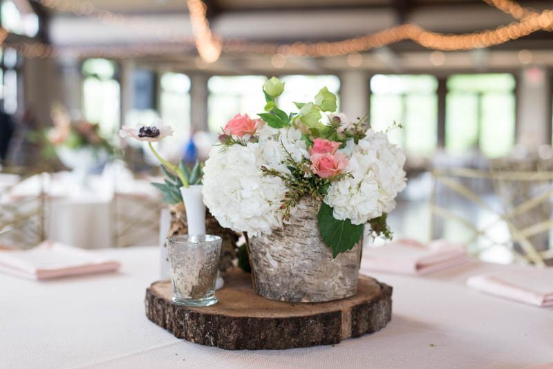 country themed center piece
