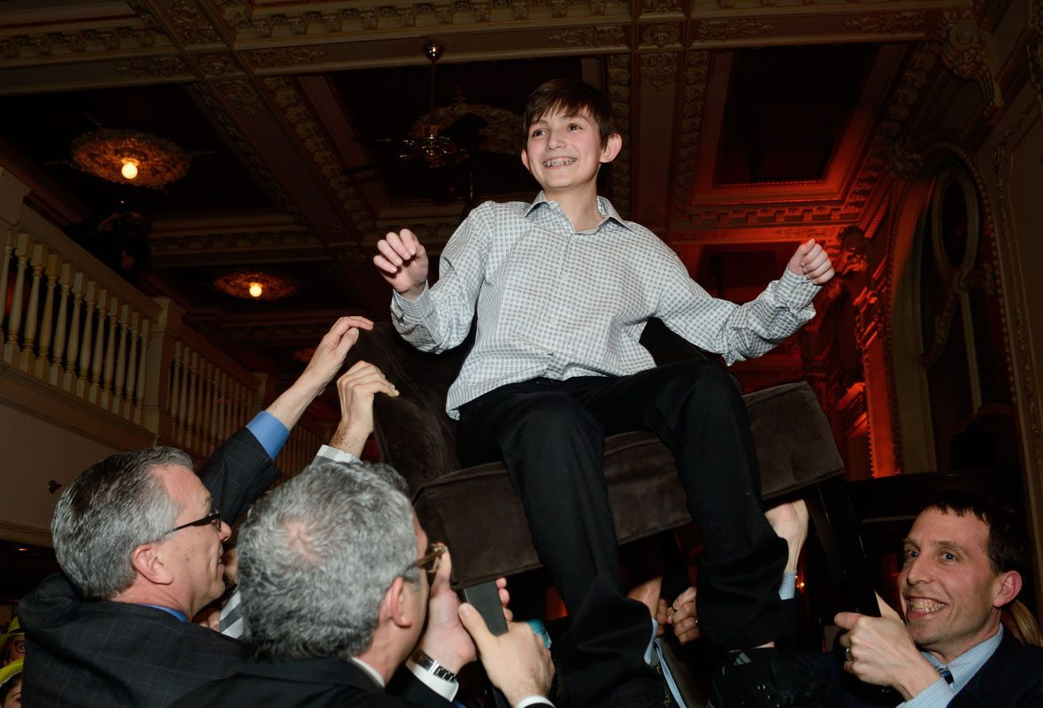hora at bar mitzvah