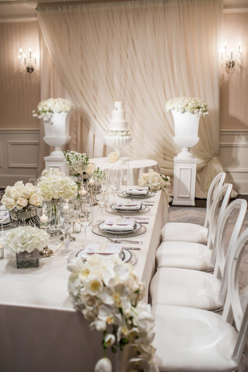 Elegant White Wedding At St Regis Atlanta In Atlanta Ga