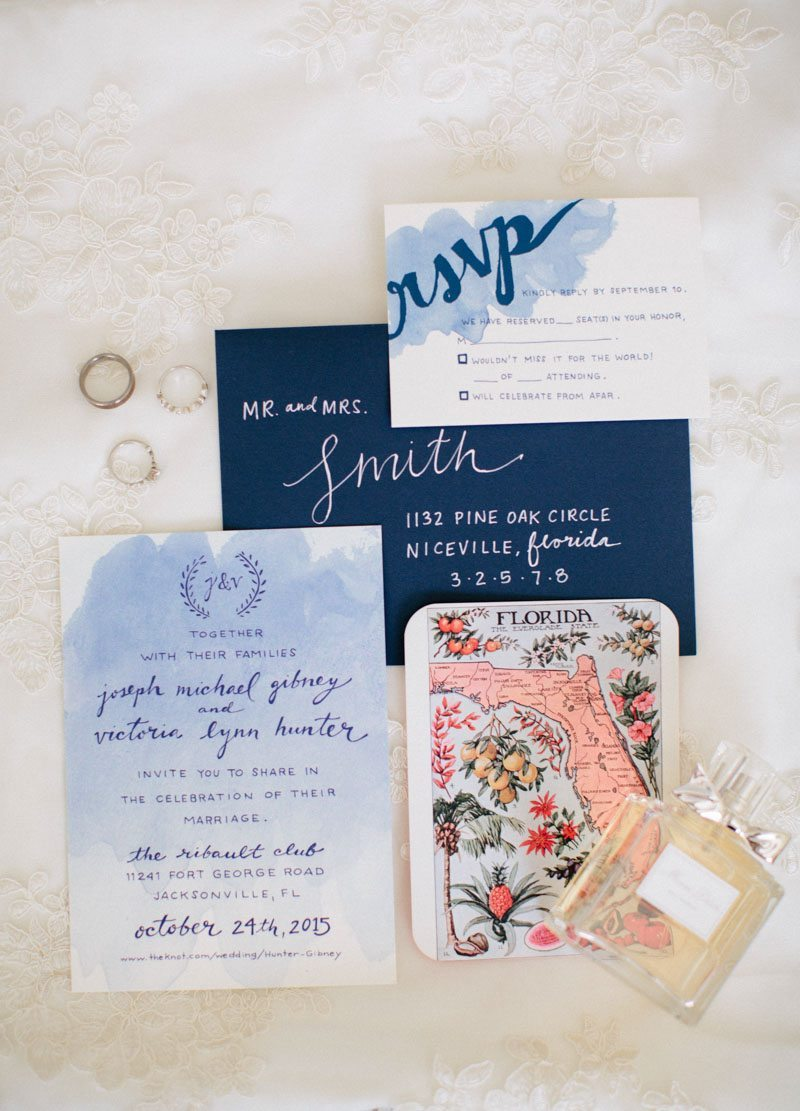 Blue watercolor and florida invitations Hunter_Gibney_Ais_Portraits_AisPortraitsGibneyRibaultWedding7