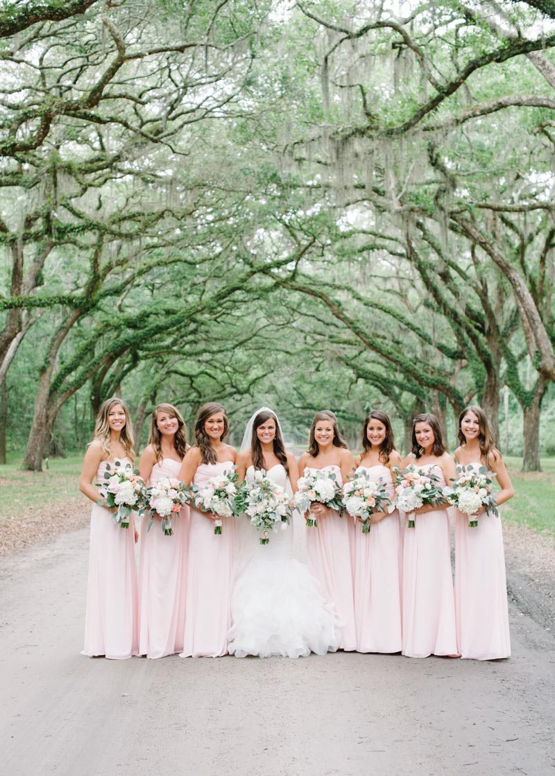 Bridesmaids outdoor under tree canopy Boaen_Smith_Britt_Croft_Photography_smithSUBMIT31