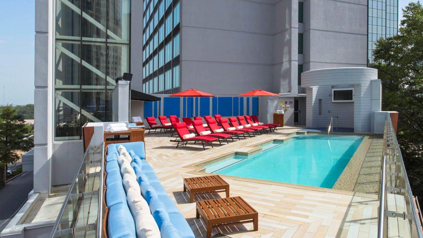 Atlanta Buckhead...W Hotel Atlanta Rooftop Pool