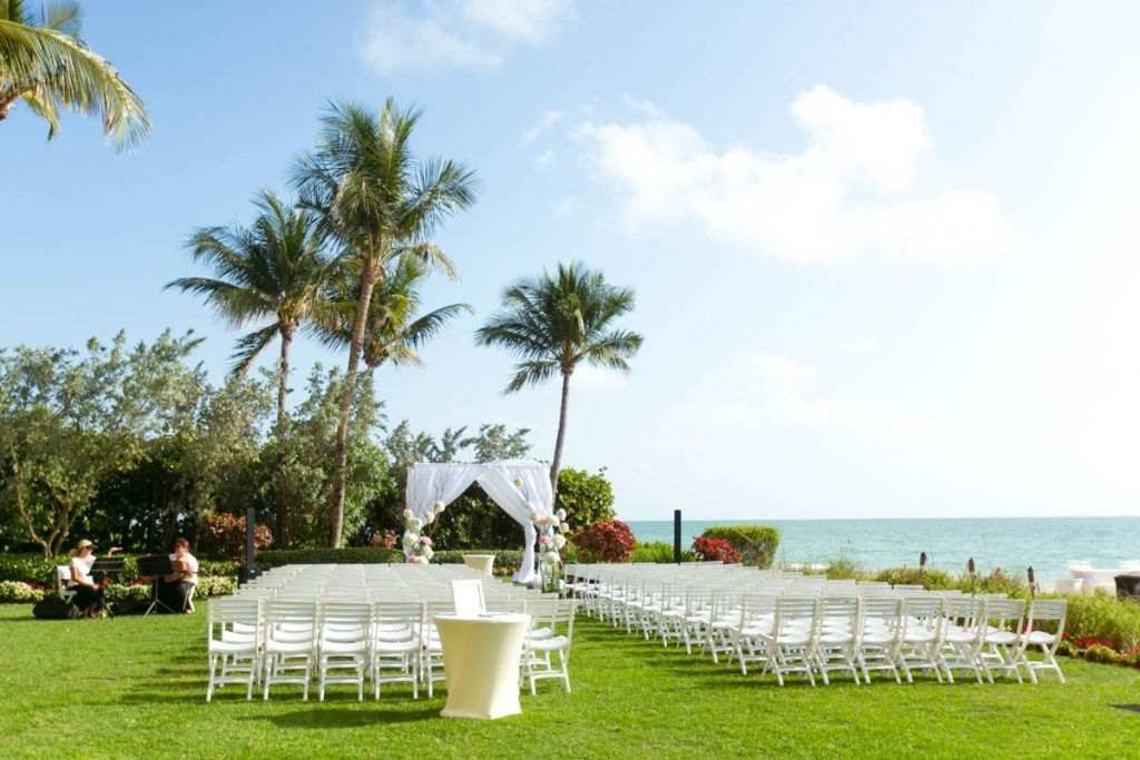 Airy Blush Beach Wedding At Laplaya Golf Resort In Naples Fl The Celebration Society