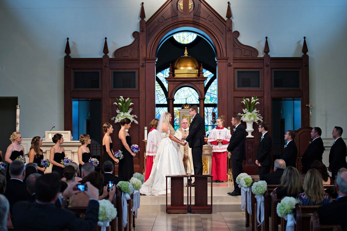 Church ceremony bride and groom standing at altar Barry_Bailey_Kristen_Weaver_Photography_KWPSGBA0638