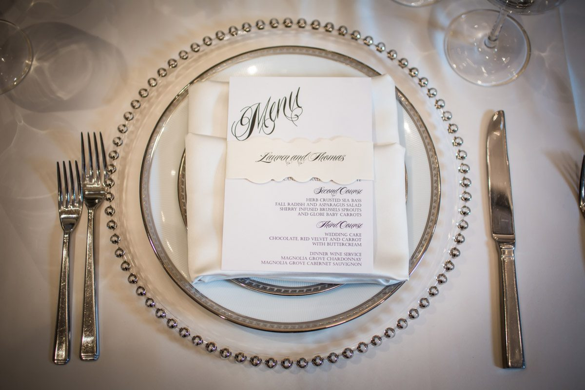 Close Up of Silver Table Settings Janet_Howard_Studio_WhiteWedding212