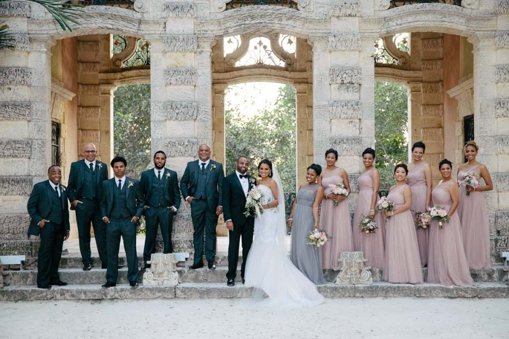 Luxe Garden Wedding At Vizcaya Museum Gardens In Miami Fl The Celebration Society