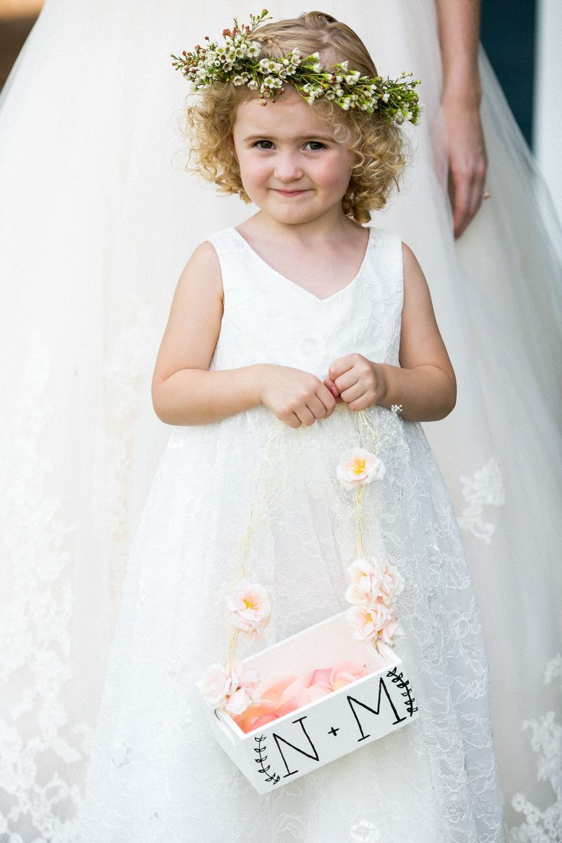 Flower girl with floral crown and basket Weatherby_Weatherby_Jessica_Williams_Studio_Weatherby7247