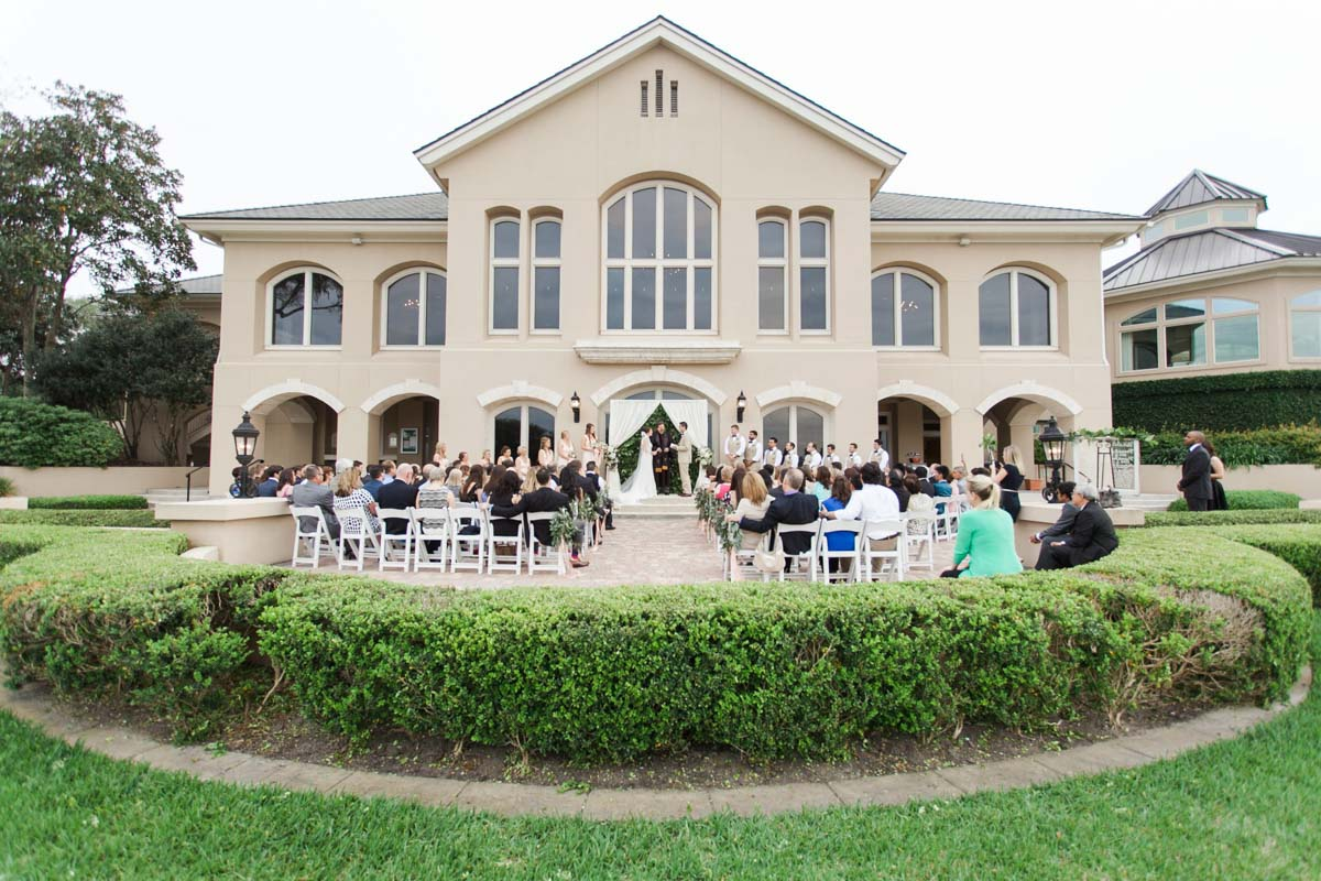 Darling Peach Wedding At The Plantation At Ponte Vedra