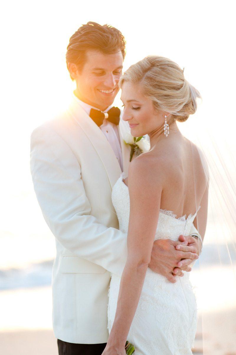 Airy Blush Beach Wedding At Laplaya Beach Amp Golf Resort In