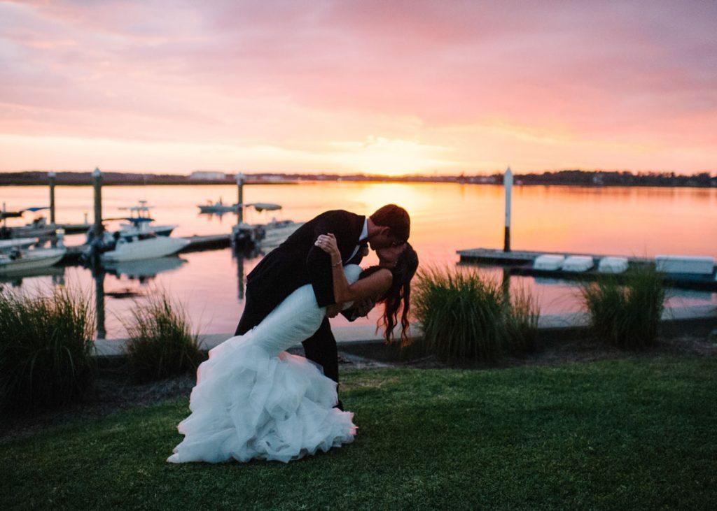 Elegant Coastal Wedding At Savannah Yacht Club In Ga The Celebration Society