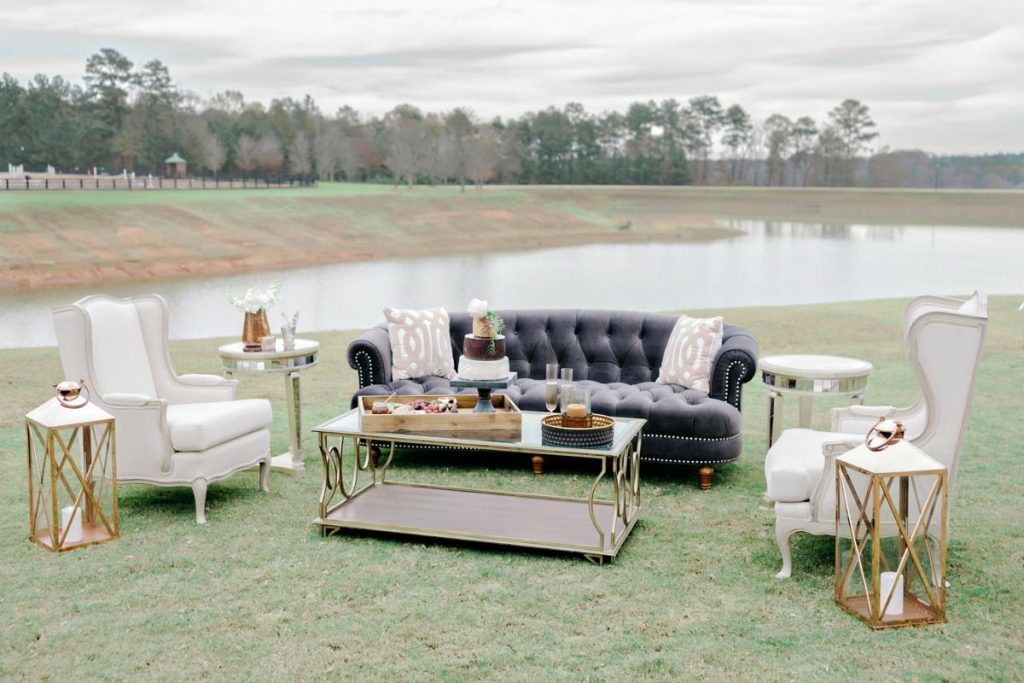 Muted Gray Wedding Inspiration At Foxhall Resort U0026 Sporting Club In  Douglasville, GA   The Celebration Society