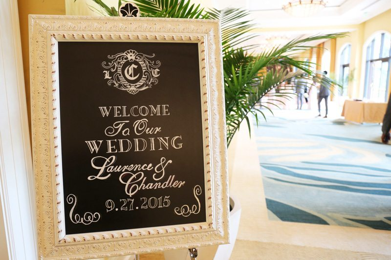 Wedding Welcome Sign_