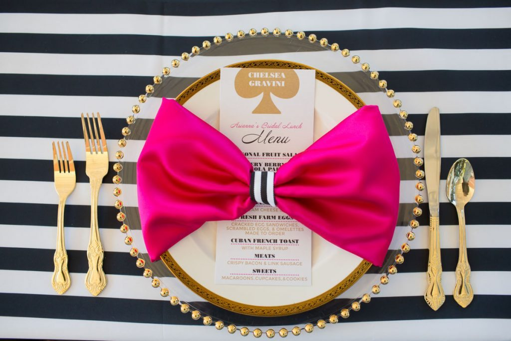 _Black and white stripe linen and pink napkin Harper_Harper_Brandi_Image_Photography_77A9750