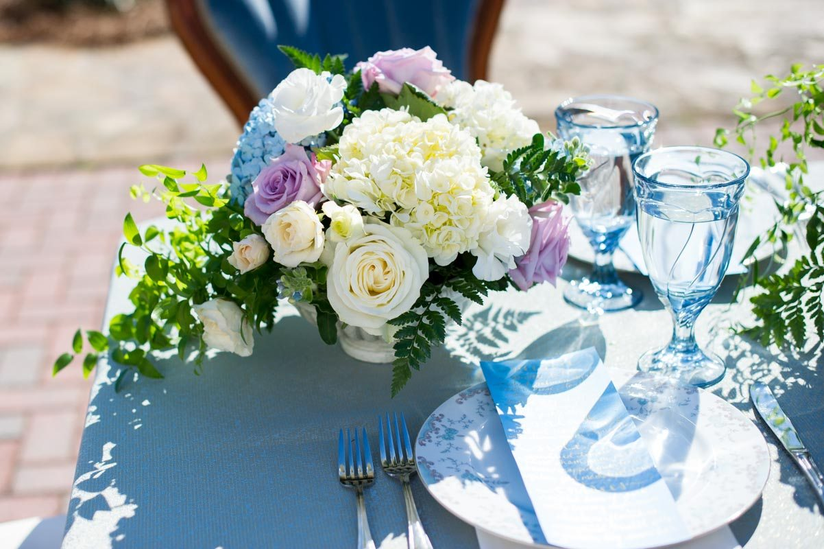 Bouquet Place Setting