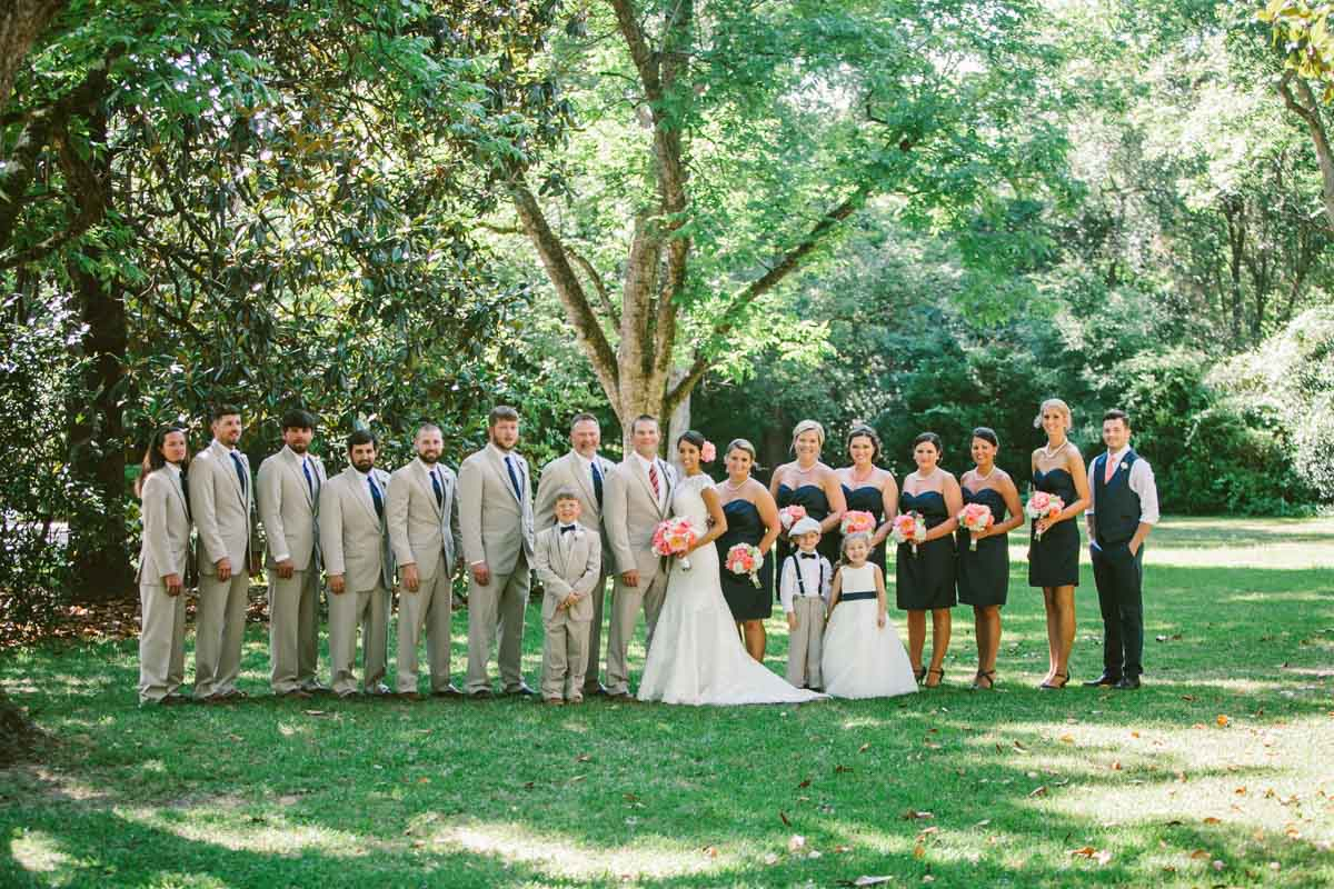 Bridal Party - Mark Williams Studio Photography