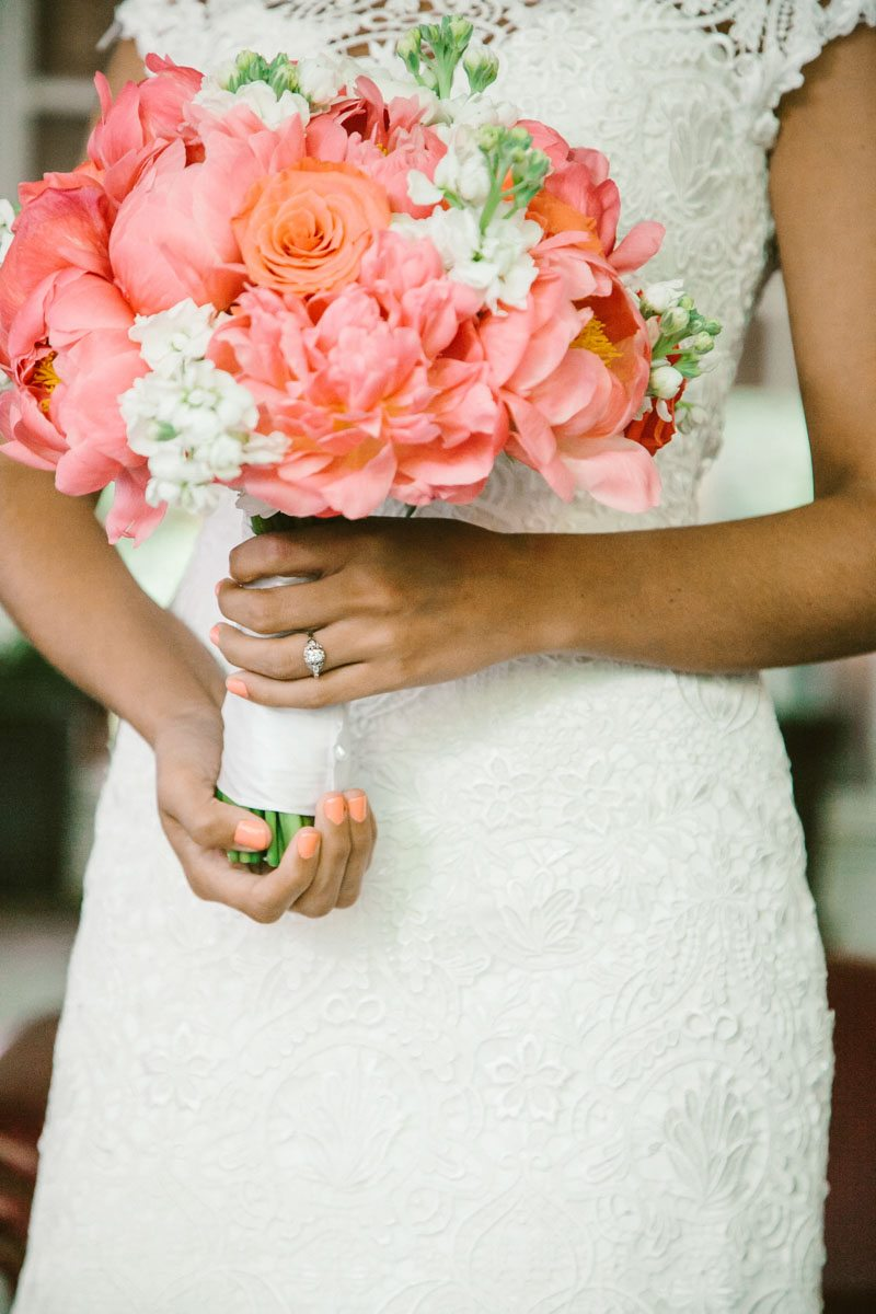Bride Featuring Bouquet - Mark WIlliams Studio Photography