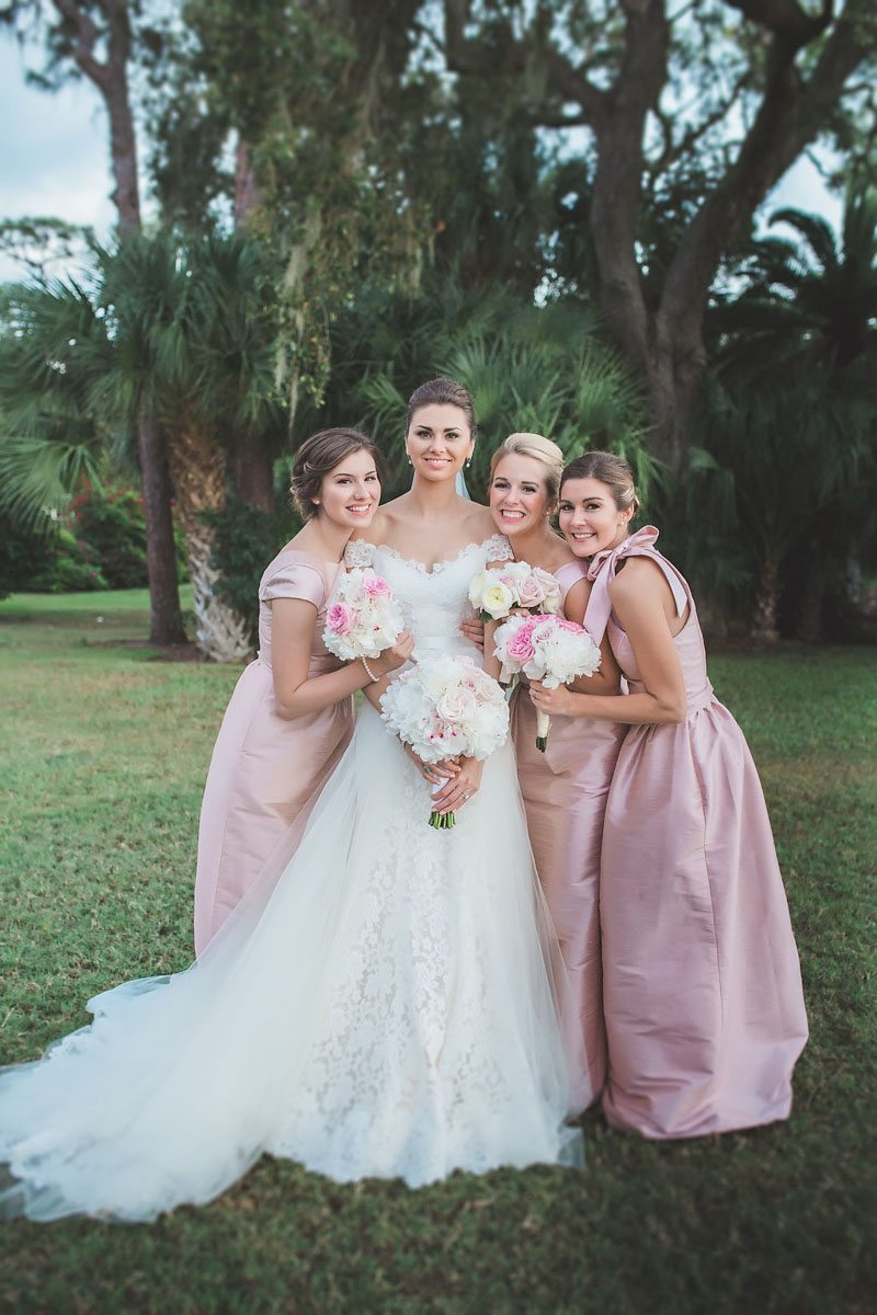 Bride and Bridesmaids - Tara Tomlinson Photography