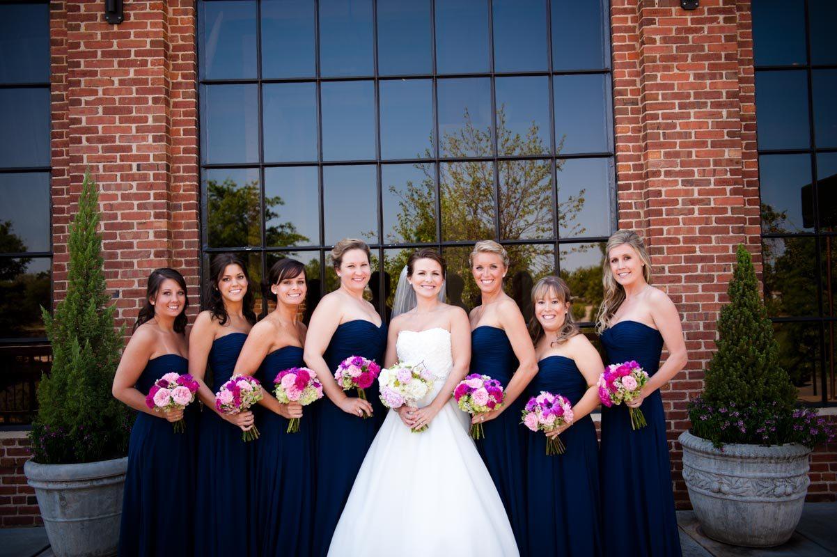 Bride and Bridesmaids - Tessa Marie Weddings
