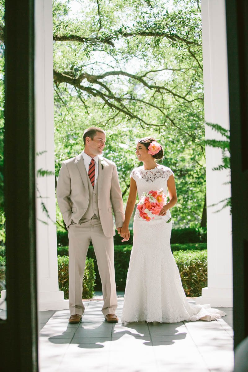 Bride and Groom First Look - Mark Williams Studio Photography