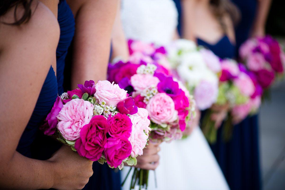 Bridesmaids Bouquetts - Tessa Marie Weddings