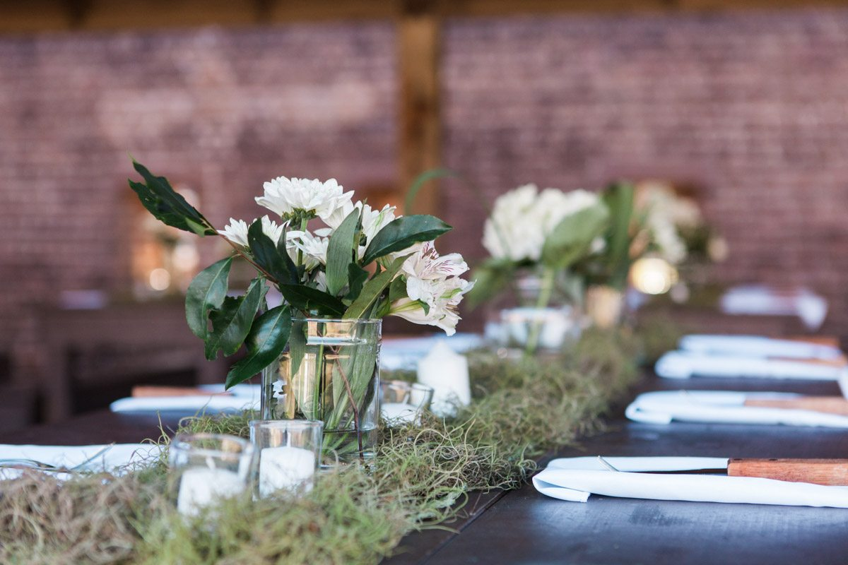 Centerpieces and Moss