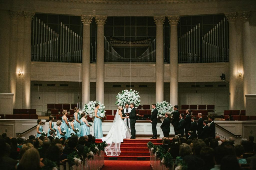 Lovely Black and Gold Wedding at Callanwolde Fine Arts Center in Atlanta GA