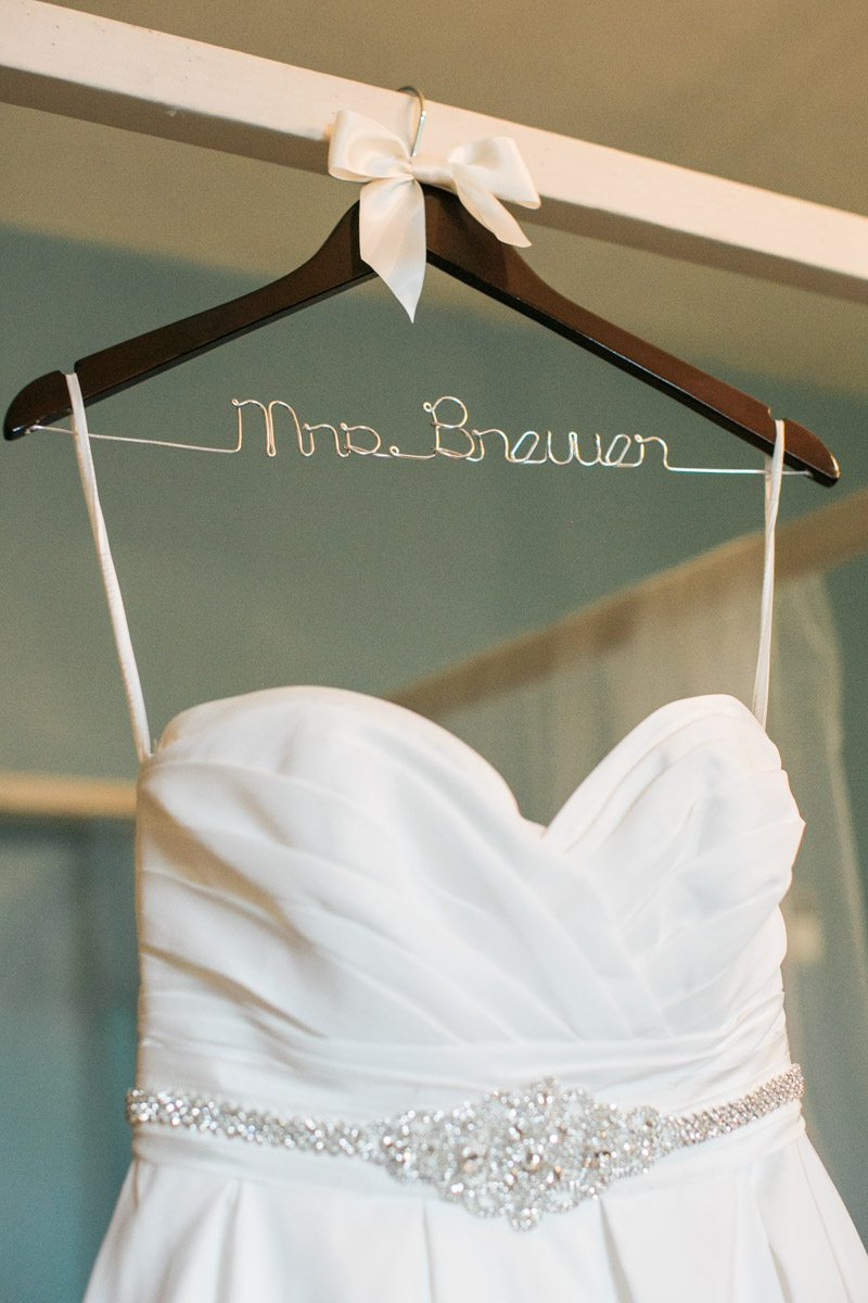 Custom Dress Hanger