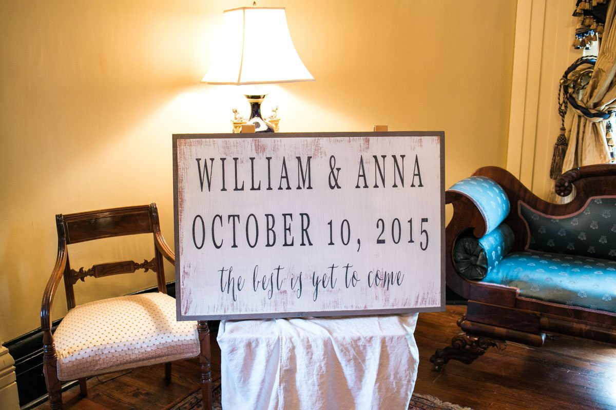 Custom Wooden Wedding Signage